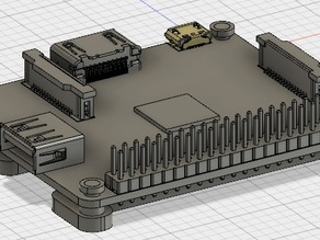Raspberry Pi A+ Mounting Plate