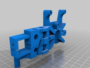 Felix extruder plate for J-head and Bowden tube