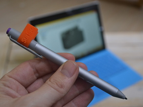Microsodft Surface Stylus clip