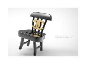 Entic Chanel Chair Miniature