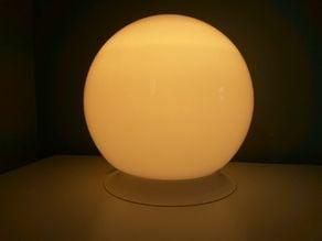 Design stand for Ikea fado lamp