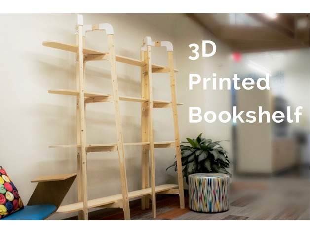 3d printed bookshelf by chrisferenceid thingiverse rh thingiverse com