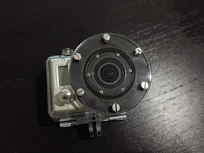goPro Hero 2 Diving Lense under water flat lense no blur