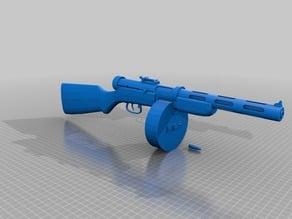Soviet PPD-40 Sub Machine Gun ( Replica )