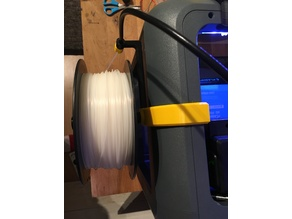 Flashforge finder (improved) spool holder