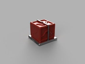 Cargo Crate on Pallet