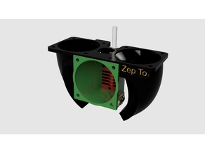 Creality CR-10S dual 40mm part cooler and 40mm Hot end fan for Stock Hot-End