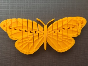 Articulated Monarch Butterfly