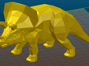 Triceratops LOW POLY
