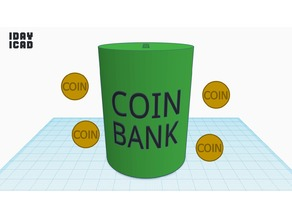 [1DAY_1CAD] COIN BANK