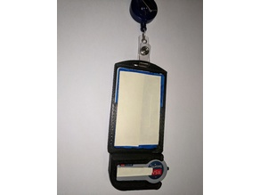 ID Badge holder with RSA Token