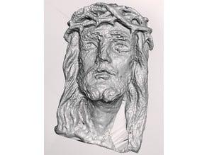 Jesus face + base