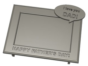 Happy Father's Day Picture Frame