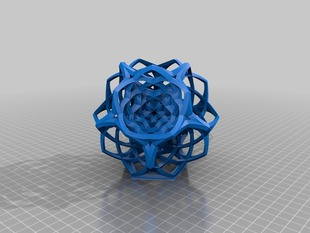 Woven Dodecahedron