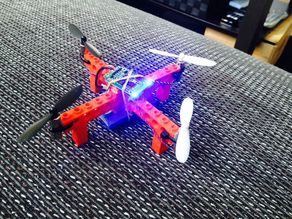 Cheap Lego quadcopter