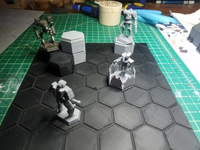 Battletech Hex Board