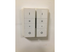 Philips Hue - double Hue remote UK light-switch cover
