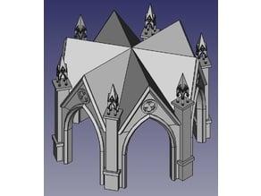 Model Gothic - Pavilion for H0 - 1:87