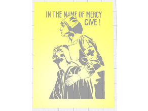 WW1 RECRUITMENT POSTER COMMEMORATING 100 YEARS ANNIVERSARY OF ARMISTICE DAY STENCILS SET OF SIX VOL 1