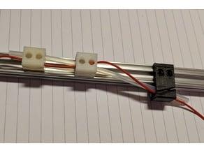 Openbeam cableguides