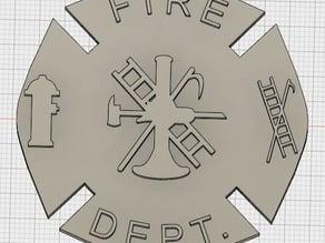 Firefighter Emblem