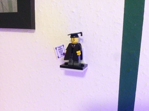 LEGO Minifigure Wall Mount / Shelf