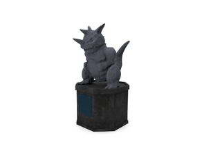 Pokemon Gym Statue