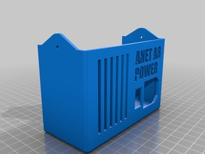 Anet A8 Power Supply Cover and switch - Remix