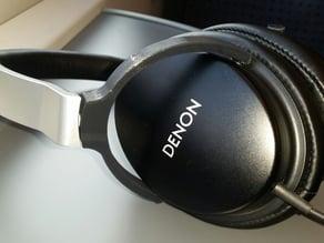 Denon AH-D1100 Headphones - Earcup brackets with screw-less locking mechanism