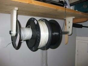 3D filament reel support backets