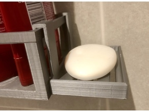 Soap holder for shower tray