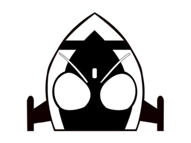 kamen rider fourze logo by karas000 thingiverse kamen rider fourze logo by karas000
