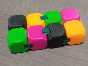 Fidget Cube with S-hinges