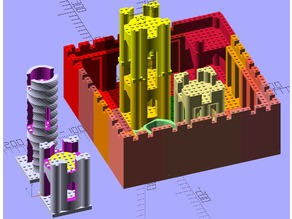 Modular Castle Kit - Lego compatible V2