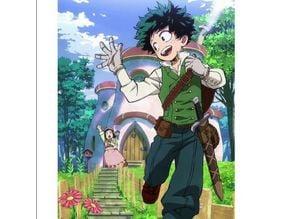Izuku Midoriya Fantasy Sword / Cosplay Prop