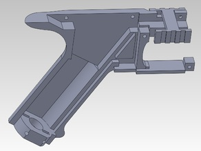 Airsoft electric toy gun - grip