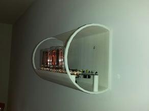Nixie Clock Wall Case Tube