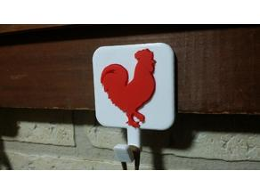 Rooster pot holders