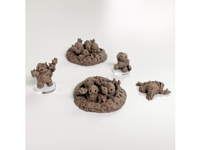 Earthenkind Accessories (28mm/32mm scale)