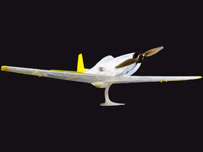 Wing part, RC P51-D Mustang
