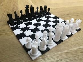 Dovetail Chess Board