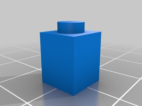 Parametric Lego Brick 1x1