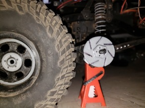 1/10th scale SCX10 Brake Rotor
