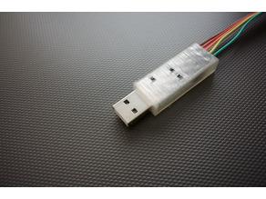 Enclosure for BATE CP2012 serial to USB converter