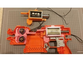 Solenoid Cage for Nerf Stryfe