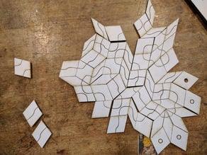 Penrose tile game