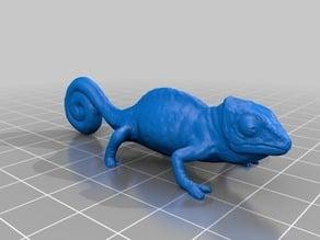 カメレオン(Chamaeleo)3Dデータ