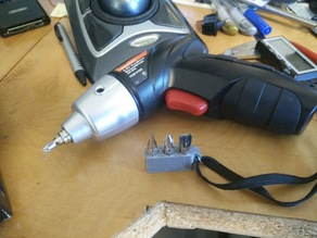 Bit Holder for the Drill Master Cordless Screw Driver