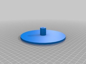 Rotary plate for 3D Scanner