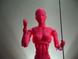 Female Action Figure 38 Points of Articulation